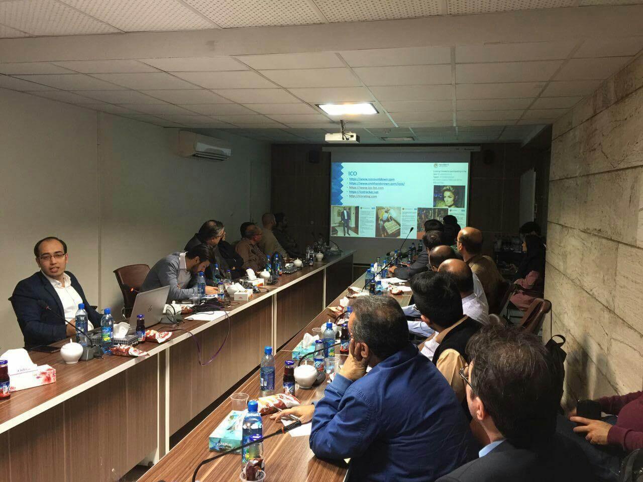 رویداد آموزشی چگونه ترید کریپتو را شروع کنیم دانشگاه شریف حسین غضنفری
